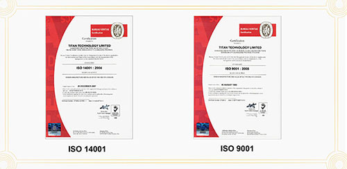 High quality cooling fan with ISO9001 and ISO14001 certification