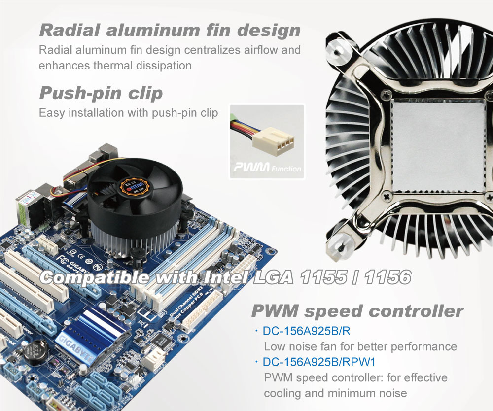 TITAN / CPU Cooler / CPU Cooling / CPU Frozen / Frozen Computer / CPU / CPU Heatsink / Heat Sink / Heat Transfer / Heat Dissipation / Dissipate Heat / Thermal Solution / Thermal Transfer / Thermal Dissipation / Thermal Cooling / Cooling Fan / CPU Fan / Silent Ventilateur / Palmes en aluminium / Palmes de refroidissement / Refroidissement du système / Plate-forme Intel / Plate-forme AMD / Intel LGA 1155 / Intel LGA1 156