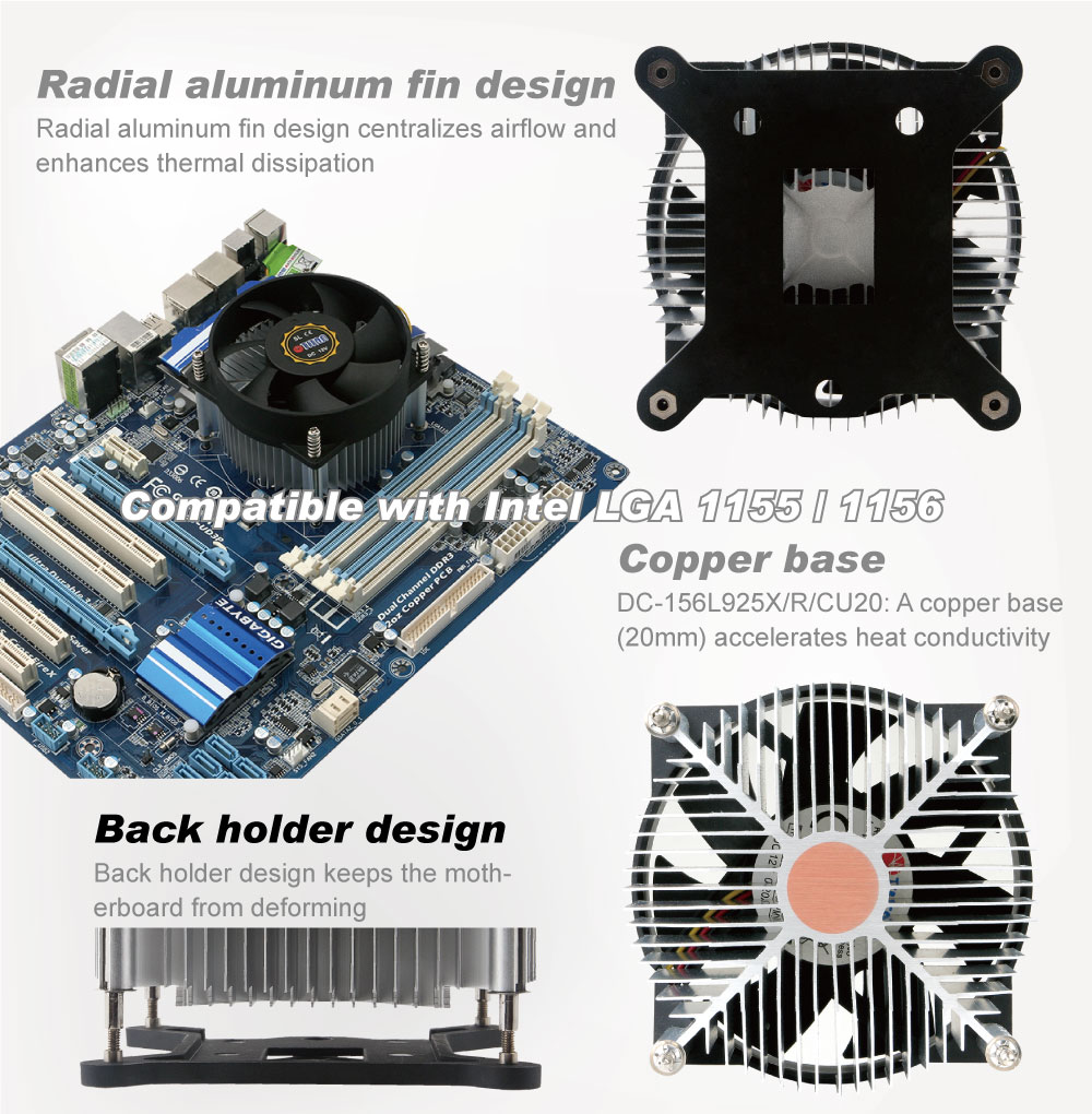 TITAN/CPU Cooler / CPU cooling / CPU frozen / frozen computer / CPU/CPU heatsink / heat sink / heat transfer / heat dissipation/dissipate heat/thermal solution/thermal transfer / thermal dissipation / thermal cooling / Cooling fan / CPU fan / silent fan / aluminum fins / cooling fins / system cooling / Intel platform / AMD platform/Intel LGA 1155 / Intel LGA1 156