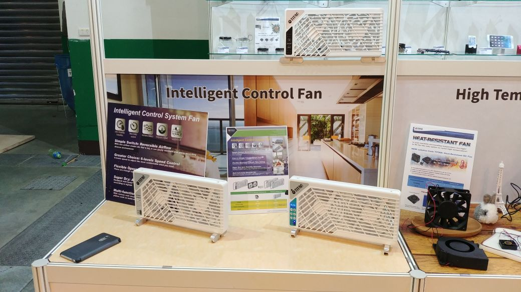 TITAN Intelligent Control fan