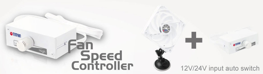 3-pin fan speed controller/ fan speed controller / DC fan speed controller/ DC cooling fan