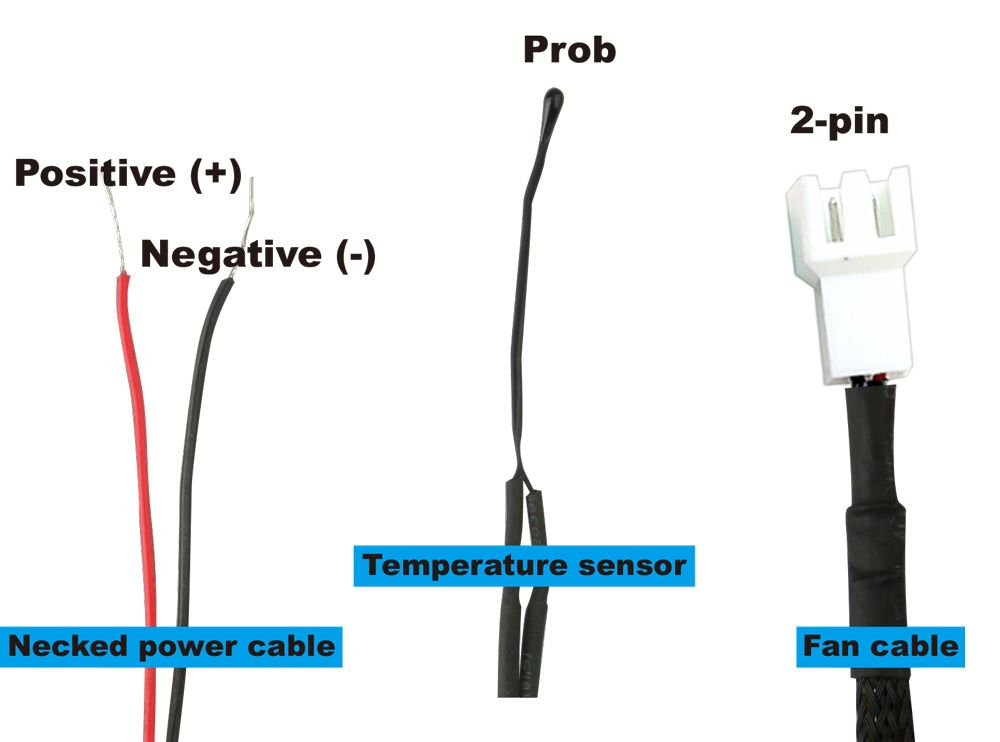 RV fan cable